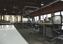 Móveis para escritórios compartilhados